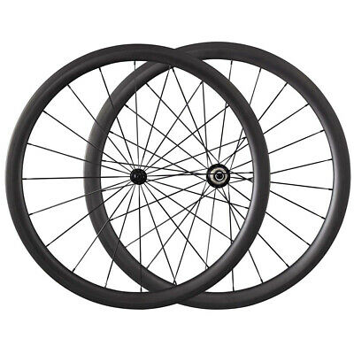 R13 Powerway R13 Hubs Road Bike 38mm Clincher Tubular Carbon Wheels Wheelset