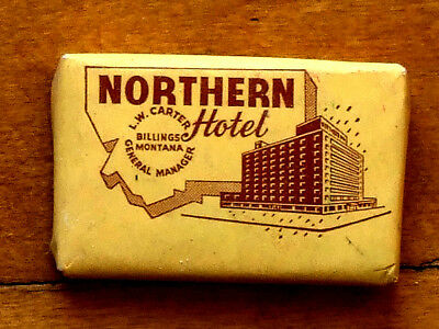 Decades Old Bar Soap Northern Hotel Billings Montana  [Unknown Brand]