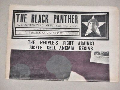 Black Panther Party News, May 22, 1971 SICKLE CELL ANEMIA  Emory, Radical