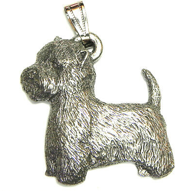Westie Pendant Dog Harris Fine Pewter Made in USA jewelry