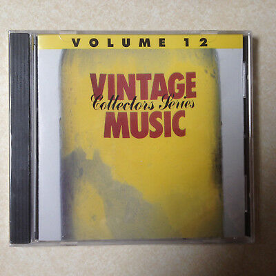 VINTAGE - ORIG CLASSIC OLDIES FROM 50s & 60s VOLUME 12- BRAND NEW CD