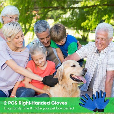 Massage True Glove Touch Deshedding Glove for Gentle and Efficient Pet Grooming