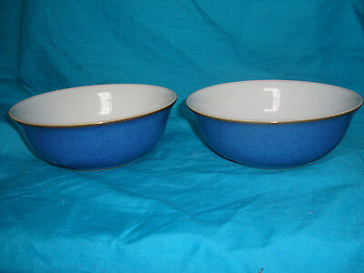 Denby - Imperial Blue - Bowls x 2