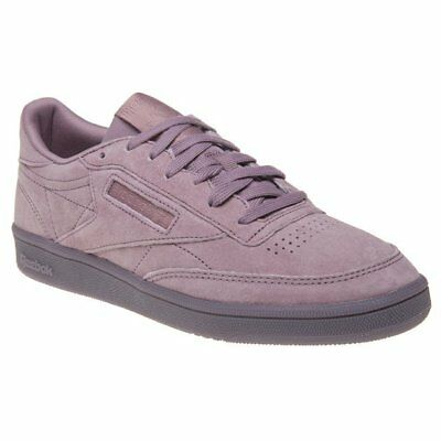 6073772e9fe4 NEW Womens Reebok White Multi Club C 85 X-Ray Canvas Sneakers Court ...