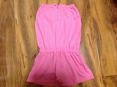 KYLIE Girls Pink Playsuit Age 9-10 years
