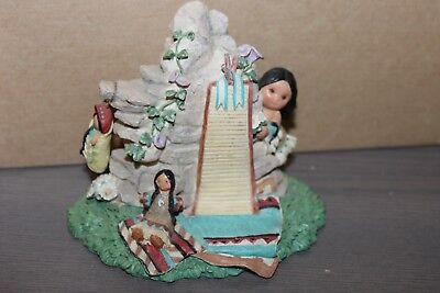 Enesco Friends of the Feather Wise One Who Wraps Love with Kindness Figurine