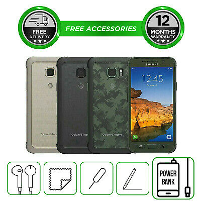 Samsung Galaxy S7 Active G891 32GB Smartphone Unlocked Sim Free All Colours