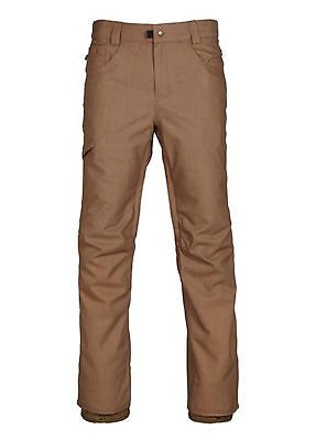 686 Raw Insulated Pants Mens Unisex Trousers Ski Snowboard Salopettes New