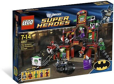 LEGO 6857 Super Heroes Dynamic Duo Funhouse Escape NEU / OVP Batman Joker DC
