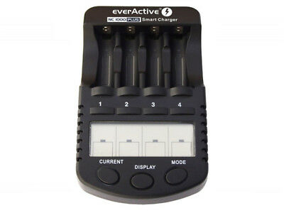 Caricatore di batterie professionale EverActive NC-1000 Plus