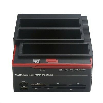 Hard Disk Drive Sata Ide 2,5-3,5 Hdd Dock Docking Station Hub Usb Card