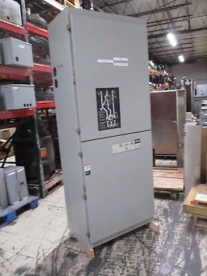 Asco Automatic Transfer Switch w/ Bypass E962360097XC 600A 480Y/277V 60Hz Used