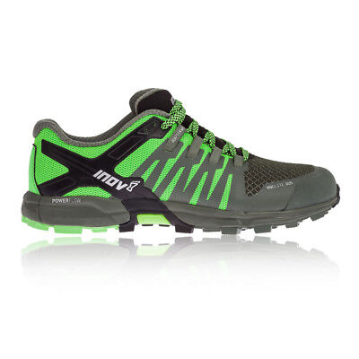 Inov8 Roclite 305 Mens Green Trail Running Road Sports Shoes Trainers Pumps