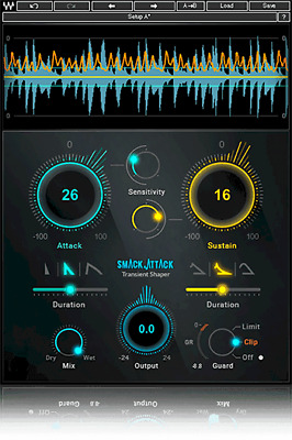 Waves Smack Attack Transient Shaper AAX + Mixing Lessons + 24hr E-Delivery!