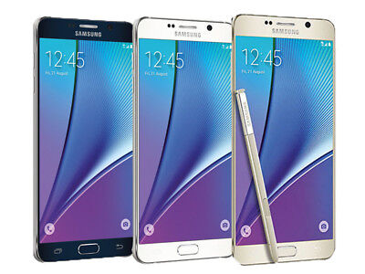 Samsung Galaxy NOTE 5 SM-N920T (Latest) 32GB T-Mobile GSM UNLOCKED Smartphone