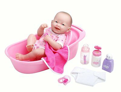 "Berenguer * La Newborn * Deluxe Bath Set 18570 * With 14"" Doll"