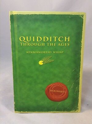 Harry Potter Quidditch Through The Ages Comic Relief Fan Book