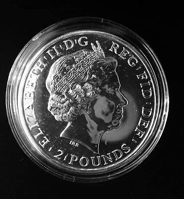 2014 (ERROR) Britania U.K. Royal Mint Silver Proof 1oz .999 Fine Silver (MULE)