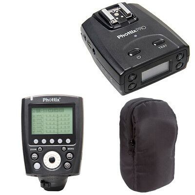 Phottix Odin II TTL Flash Trigger Receiver for Canon + PocketWizard Pouch