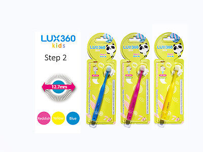 LUX360 Kids Step 2 Toothbrush (Blue)1P