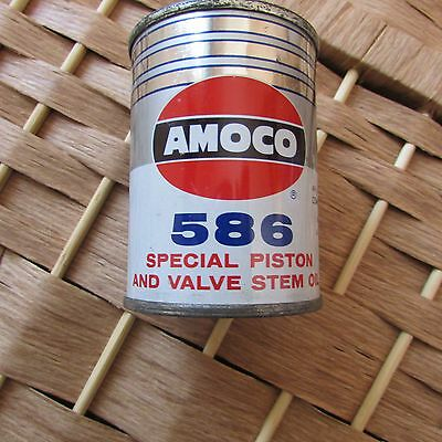 Amoco 586 Special Piston & Valve Stem Oil Can Vintage Bank