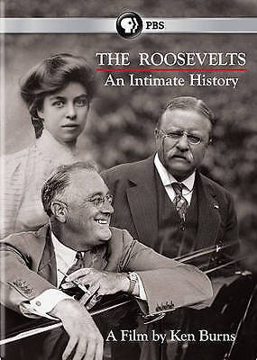 The Roosevelts An Intimate History, PBS Documentary by Ken Burns 7 DVD Set