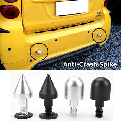 Car Rear Bumper Spike Guard Protector For SMART Fortwo ED W 451 2008-2014 Cover