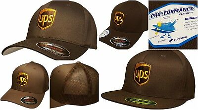 UPS Embroidered Baseball Hat Many Different Styles Flexfit   Snapback UPS  CAP ba6eefbbb504