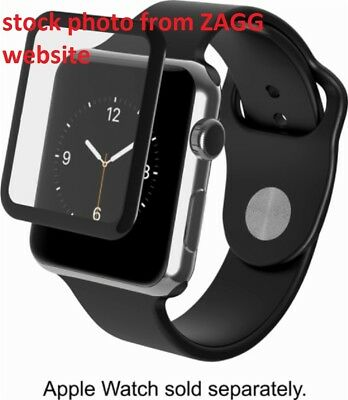 3pcs.Zagg Invisibleshield Glass Luxe Screen Protector Apple Watch Series 2(38mm)