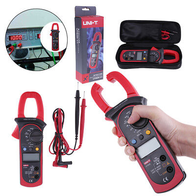 UNI-T UT203 Digital Display AC/DC Clamp Multimeter Current Voltage Meter w/ Bag