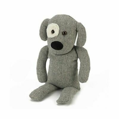 Warmies Cozy Dog Charles Herringbone Plush Heatable Microwaveable Soft Animal
