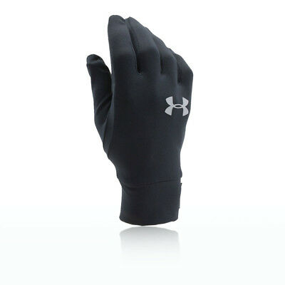 Under Armour Unisexe Noir Liner Gants De Sport Running Ultraléger Microporeux