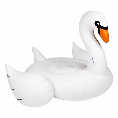 Sunnylife Ride-On Float - Swan
