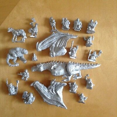 OATHSWORN DRAGON, DWARFS, OWLBEAR ETC 28mm FANTASY METAL OOP, LOTR, BARGAIN.