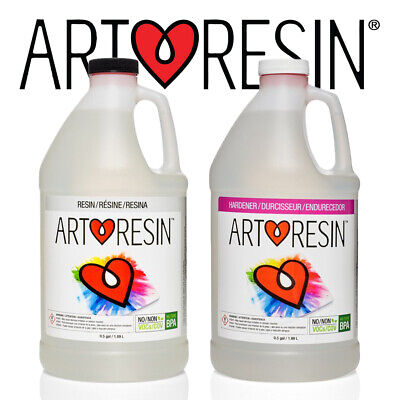 ArtResin® Clear Epoxy Coating Art Resin for Artwork and Photos 3.78l Studio Kit