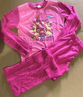 Girls moshi monsters  pyjamas Flat Packed Age 7-8