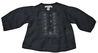 Marie Chantal Baby Girl 100% Woven Wool Top Various Colour Sizes NWOT SP £66