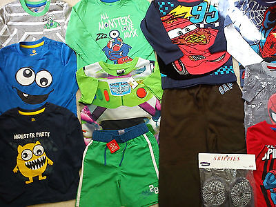 Amazing  Spider Man Mickey New Bundle Outfits  Baby Boy 18/24 Mths (2.6)Nr421