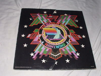 HAWKWIND In Search of Space (1972) LP Original Prog Psych United Artists