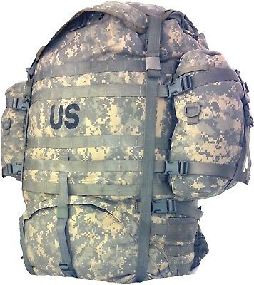Molle rucksack large backpack ACU Digital Field US Army military used good