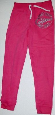 Girl's Ex Store Pink Jogging Trousers Tracksuit Bottoms