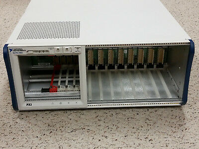 National Instruments NI PXI-1052 Chassis, 4-Slot PXI / 8-Slot SCXI Mainframe