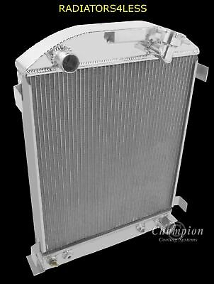 Champion Cooling 3 Row All Aluminum Radiator CC571 Buick,Chevrolet,Oldsmobile,Po