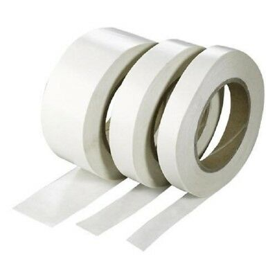 Double Sided Clear Sticky Tape Roll Strong 50M Permanent Self Adhesive Sellotape