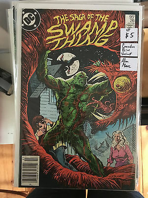 SWAMP THING #26 VF 1st Print CANADIAN PRICE VARIANT Newsstand ALAN MOORE
