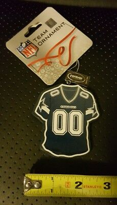 Dallas Cowboys Jersey Christmas Ornament NFL NFC East Xmas Holiday Free Shipping