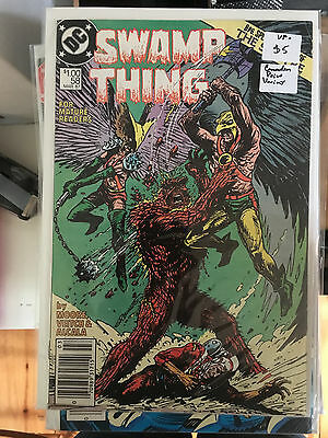 SWAMP THING #58 VF- 1st Print CANADIAN PRICE VARIANT Newsstand ALAN MOORE