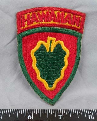 Vintage WWII Korean War Era US Army Hawaiian 24th Infantry Division Patch ajd