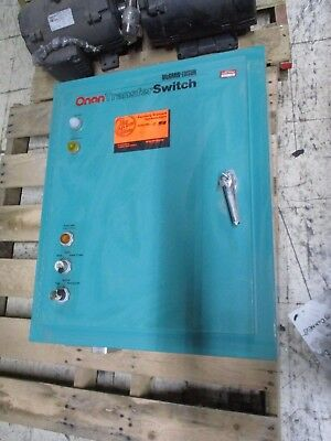 Onan Transfer Switch OTBCA70-5DU/5601E 70A 120/240V 3Ph 60Hz Used