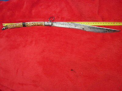 Navaja Chatellerault Ancien Rare Couteau Defense 62 Cm Tbe Old Folding Knife Vgc